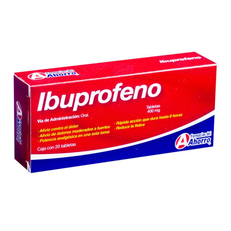 Ibuprofeno Embalagem