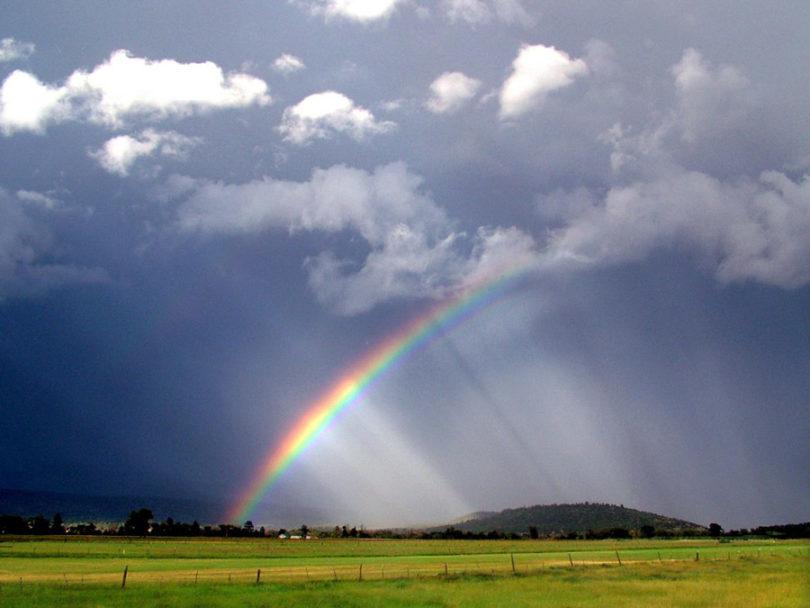 cores do arco íris