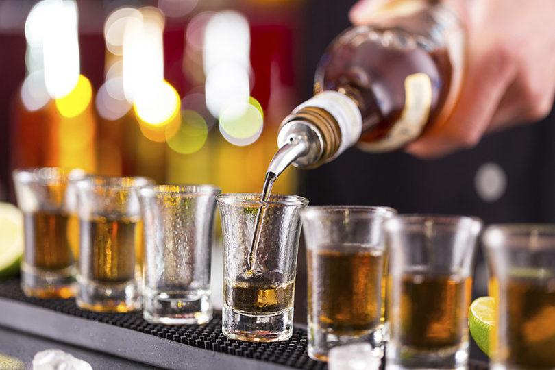 Open bar:
